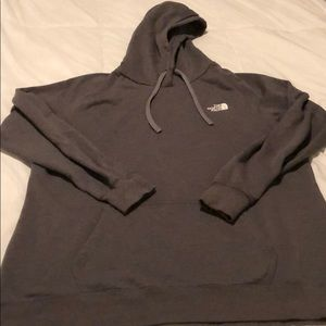 North face woman's xxl gray hoodie